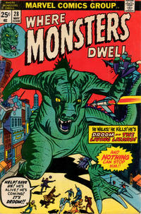 Cover Thumbnail for Where Monsters Dwell (Marvel, 1970 series) #28