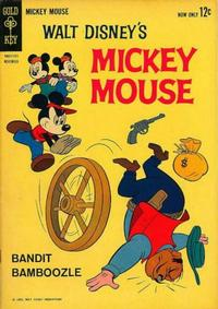 Cover Thumbnail for Mickey Mouse (Western, 1962 series) #85