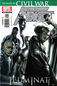 Cover Thumbnail for New Avengers: Illuminati (Marvel, 2006 series) #1 [Direct Edition]