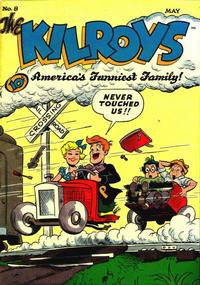Cover for The Kilroys (1947 series) #8