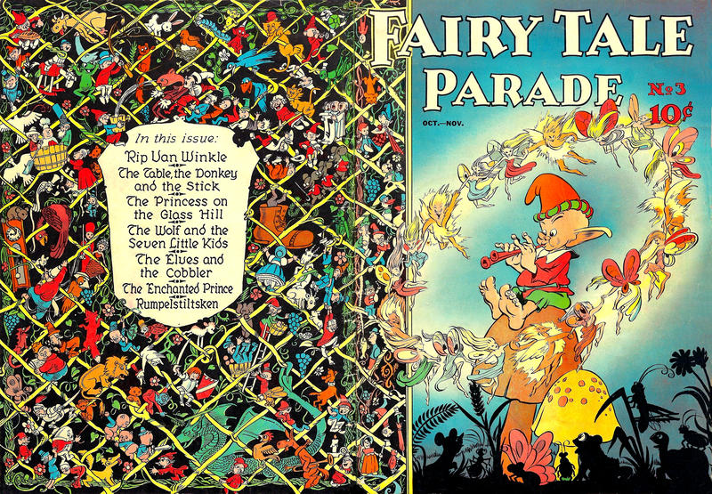 Cover for Fairy Tale Parade (Dell, 1942 series) #3