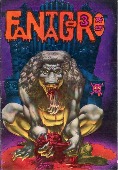 Cover for Fantagor (Last Gasp, 1971 series) #3