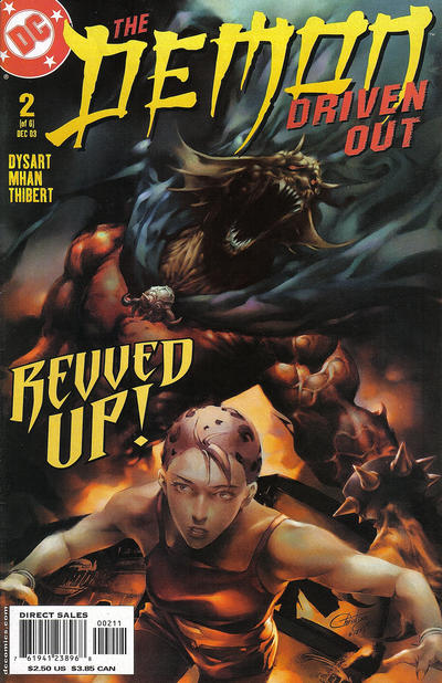 Cover for Demon: Driven Out (2003 series) #2