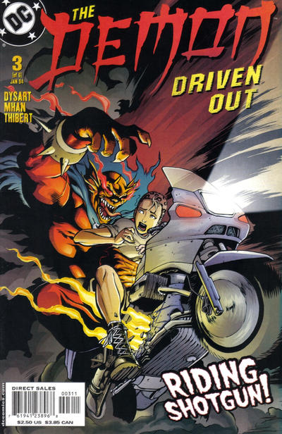 Cover for Demon: Driven Out (DC, 2003 series) #3