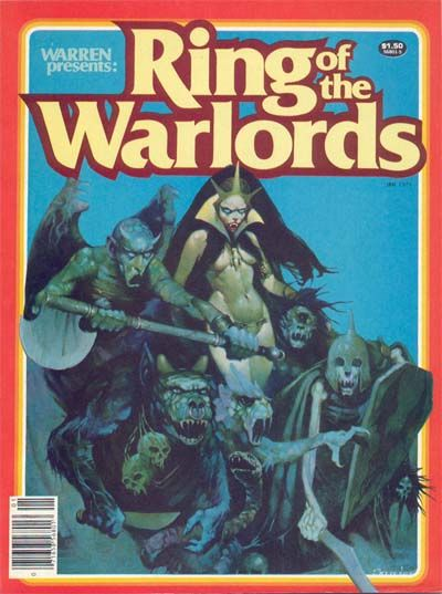Cover for Warren Presents (Warren, 1979 series) #1