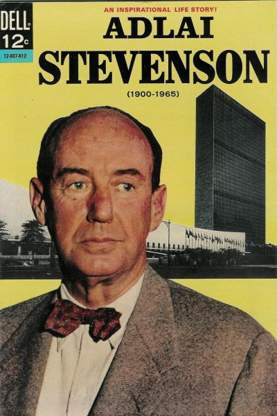 Cover for Adlai Stevenson (Dell, 1966 series)