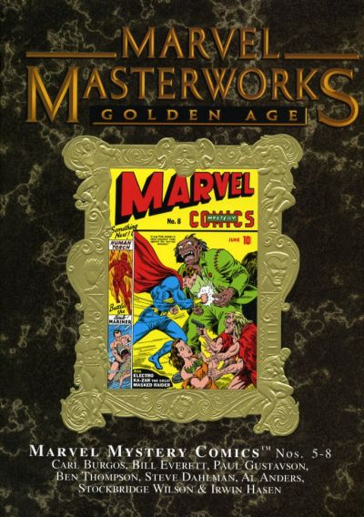 Cover for Marvel Masterworks: Golden Age Marvel Comics (Marvel, 2004 series) #2 (60) [Limited Variant Edition]