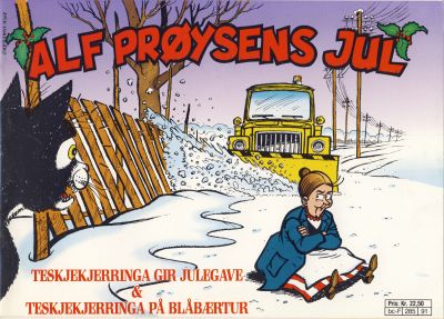 Cover for Alf Prøysens Jul (Semic, 1990 series) #[1991]