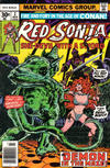 Cover for Red Sonja (Marvel, 1977 series) #2