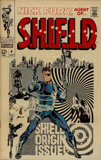 Cover Thumbnail for Nick Fury, Agent of SHIELD (Marvel, 1968 series) #4