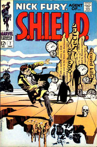 Cover Thumbnail for Nick Fury, Agent of SHIELD (Marvel, 1968 series) #7