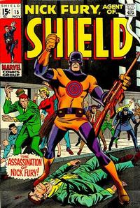 Cover Thumbnail for Nick Fury, Agent of SHIELD (Marvel, 1968 series) #15