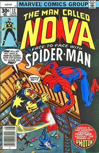 Cover Thumbnail for Nova (Marvel, 1976 series) #12 [30 edition]