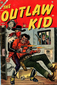 Cover Thumbnail for The Outlaw Kid (Marvel, 1954 series) #2