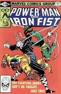 Cover Thumbnail for Power Man and Iron Fist (Marvel, 1981 series) #74 [direct]