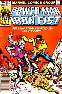 Cover for Power Man and Iron Fist (Marvel, 1981 series) #97 [direct]