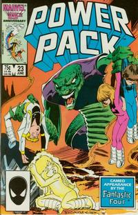 Cover Thumbnail for Power Pack (Marvel, 1984 series) #23 [Direct Edition]