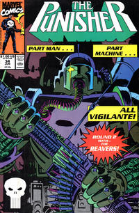 Cover for The Punisher (1987 series) #34