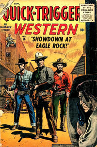 Cover Thumbnail for Quick Trigger Western (Marvel, 1956 series) #14