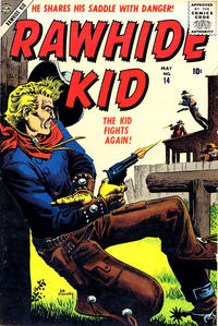 Cover Thumbnail for Rawhide Kid (Marvel, 1955 series) #14