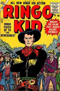 Cover Thumbnail for The Ringo Kid Western (Marvel, 1954 series) #8
