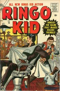 Cover Thumbnail for The Ringo Kid Western (Marvel, 1954 series) #15