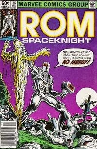 Cover Thumbnail for ROM (Marvel, 1979 series) #36 [Newsstand Edition]