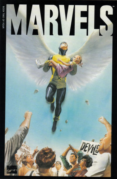 Cover for Marvels (Marvel, 1994 series) #2 [Second Printing]