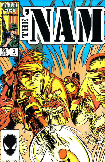 Cover for The 'Nam (Marvel, 1986 series) #2
