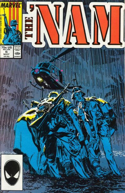 Cover for The 'Nam (Marvel, 1986 series) #6 [Newsstand Edition]