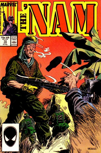 Cover for The 'Nam (1986 series) #14