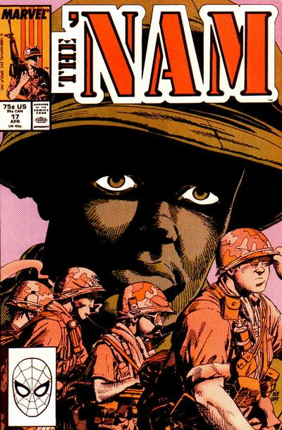 Cover for The 'Nam (1986 series) #17 [Newsstand Edition]