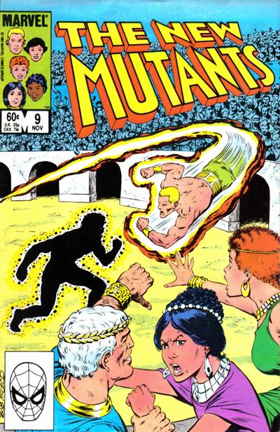 Cover for The New Mutants (1983 series) #9