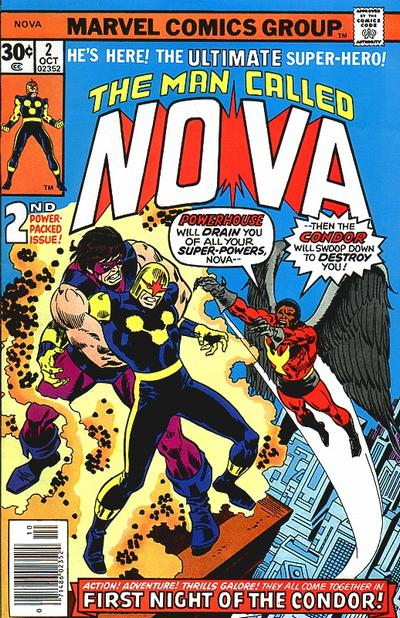 Cover for Nova (Marvel, 1976 series) #2