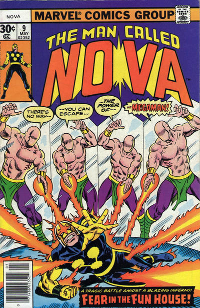 Cover for Nova (Marvel, 1976 series) #9