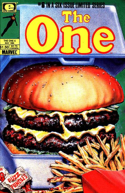 Cover for The One (1985 series) #6