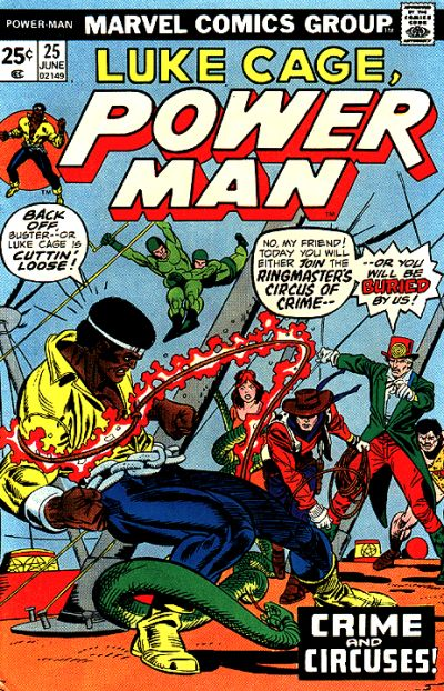 Cover for Power Man (Marvel, 1974 series) #25