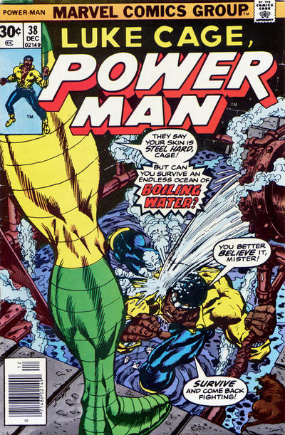 Cover for Power Man (Marvel, 1974 series) #38