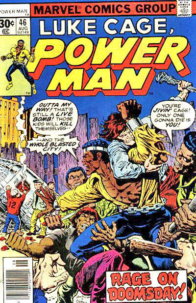 Cover for Power Man (Marvel, 1974 series) #46 [30¢ edition]