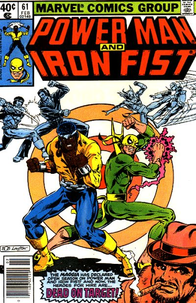 Cover for Power Man (Marvel, 1974 series) #61 [direct]
