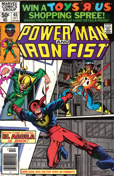 Cover for Power Man (Marvel, 1974 series) #65 [direct]