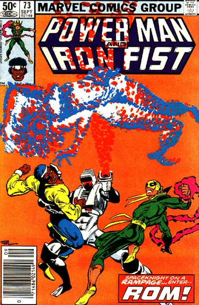 Cover for Power Man and Iron Fist (Marvel, 1981 series) #73