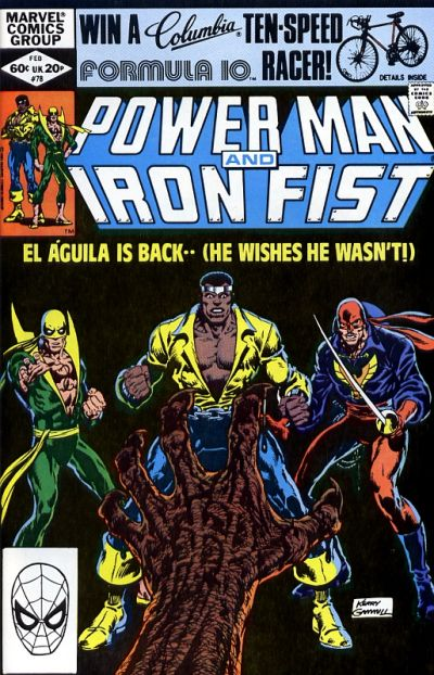 Cover for Power Man and Iron Fist (Marvel, 1981 series) #78 [newsstand]