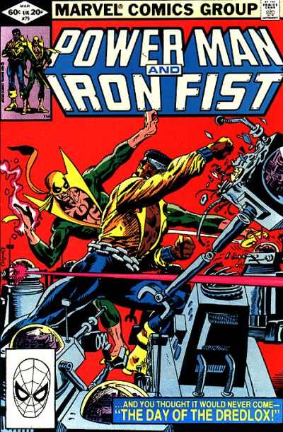 Cover for Power Man and Iron Fist (1981 series) #79