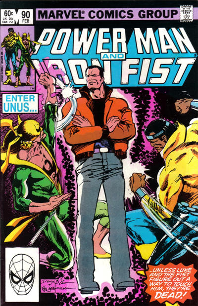 Cover for Power Man and Iron Fist (Marvel, 1981 series) #90