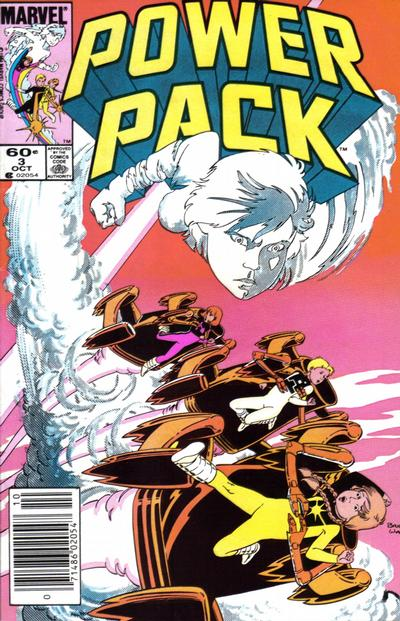 Cover for Power Pack (1984 series) #3
