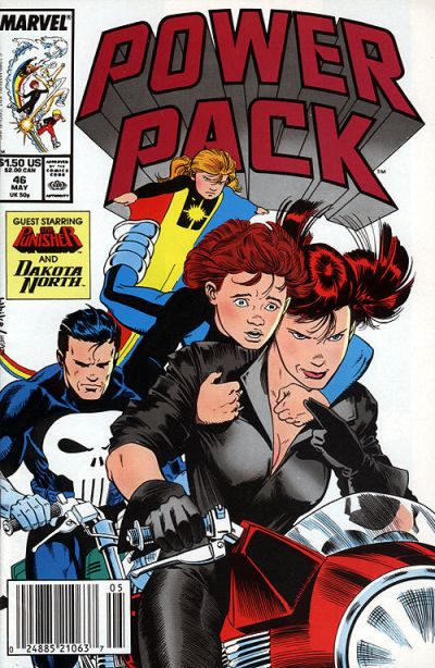 Cover for Power Pack (Marvel, 1984 series) #46