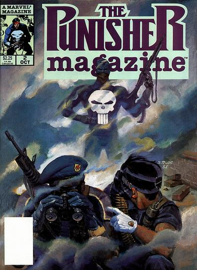 Cover for The Punisher Magazine (Marvel, 1989 series) #2
