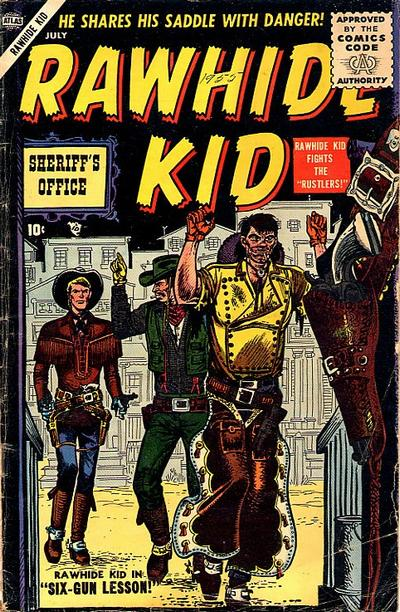 Cover for Rawhide Kid (1955 series) #3