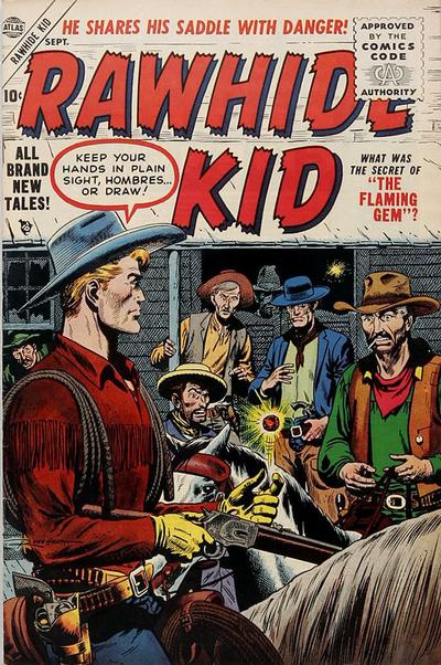 Cover for Rawhide Kid (Marvel, 1955 series) #4